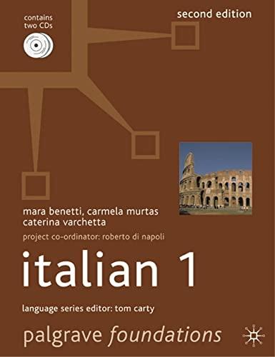 9780230537828: Foundations Italian 1 (Palgrave Foundations Languages)