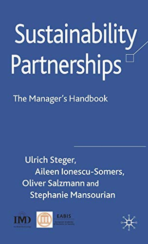 9780230539815: Sustainability Partnerships: The Manager's Handbook