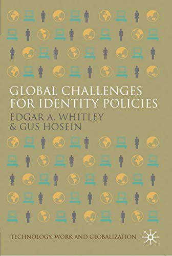 9780230542235: Global Challenges for Identity Policies