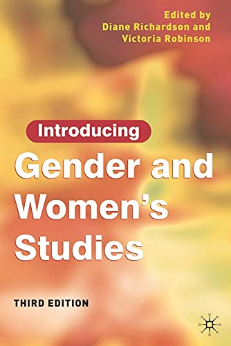 9780230543003: Introducing Gender & Womens Studies: Third Edition