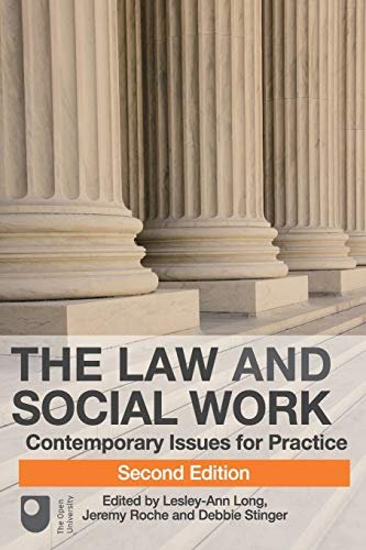 9780230543034: The Law and Social Work: Contemporary Issues for Practice (Open University Course: the Law and Social Work in England and Wales)