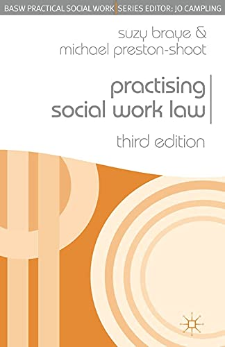 9780230543188: Practising Social Work Law