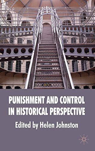 9780230549333: Punishment and Control in Historical Perspective