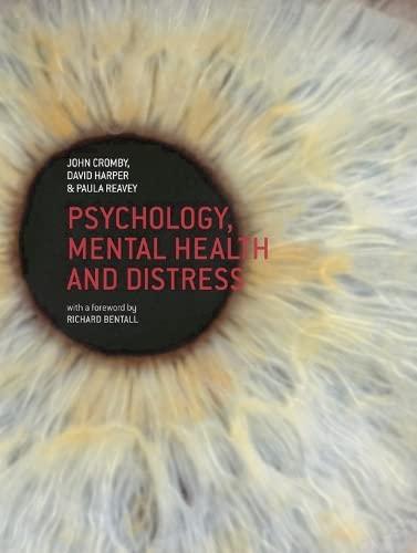 9780230549555: Psychology, Mental Health and Distress