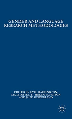 9780230550681: Gender and Language Research Methodologies