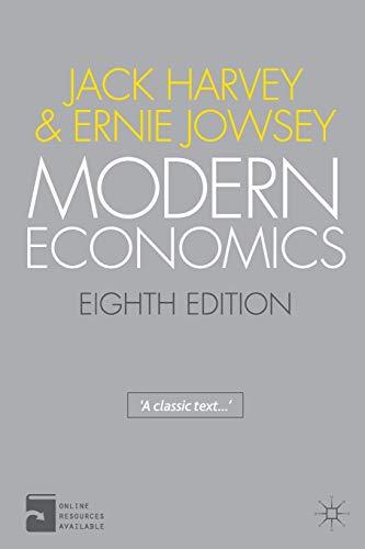 Modern Economics: An Introduction, Eighth Edition: Jack Harvey, Ernie
