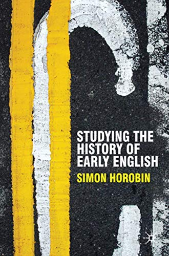 9780230551374: Studying the History of Early English