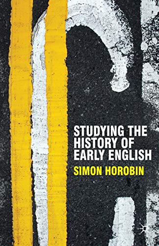 9780230551381: Studying the History of Early English (Perspectives on the English Language)