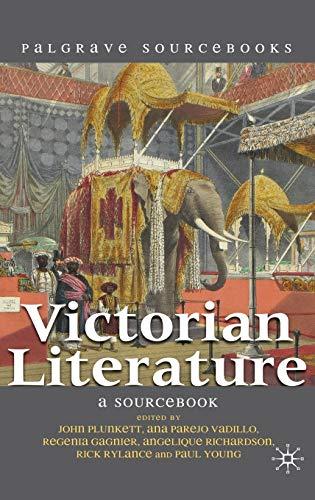 9780230551749: Victorian Literature: A Sourcebook (Palgrave Sourcebooks)