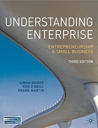 9780230552708: Understanding Enterprise: Entrepreneurship and Small Business