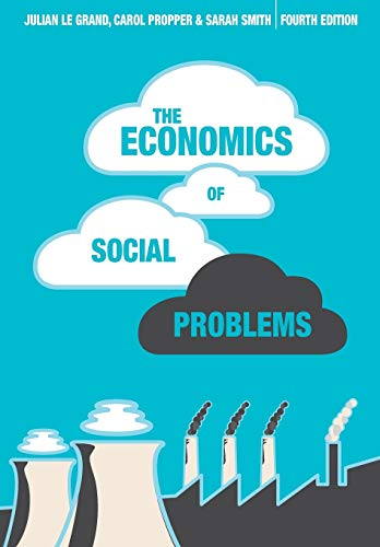 9780230553002: The Economics of Social Problems, Fourth Edition