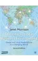 9780230553668: International Business Environment