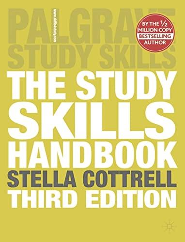 9780230573055: The Study Skills Handbook (Palgrave Study Skills)