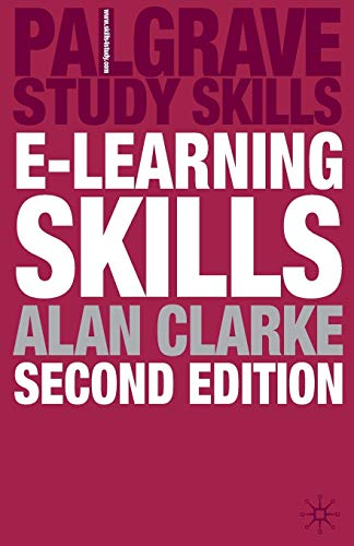 9780230573123: e-Learning Skills (Palgrave Study Skills)