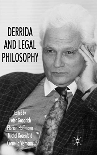 9780230573611: Derrida and Legal Philosophy