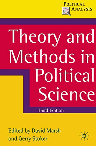 9780230576278: Theory and Methods in Political Science (Political Analysis)