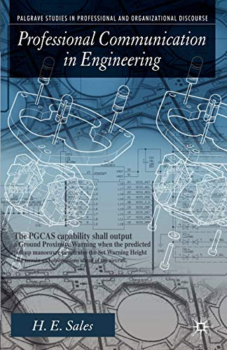 9780230580138: Professional Communication in Engineering (Palgrave Studies in Professional and Organizational Discourse)