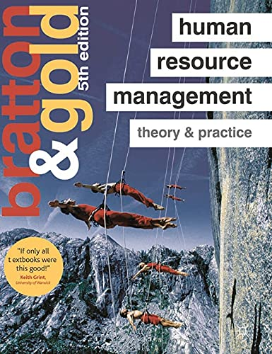 9780230580565: Human Resource Management: Theory and Practice