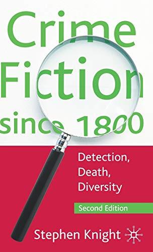 9780230580732: Crime Fiction since 1800: Detection, Death, Diversity