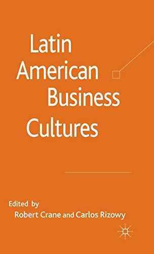 9780230580817: Latin American Business Cultures