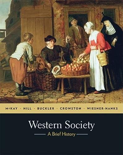 9780230594531: Western Society: A Brief History