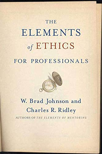 9780230603912: The Elements of Ethics for Professionals