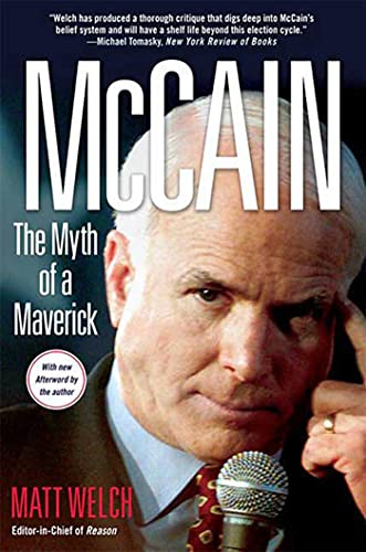 9780230608054: McCain - The Myth of a Maverick