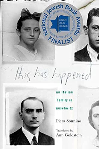 9780230613997: This Has Happened: An Italian Family in Auschwitz
