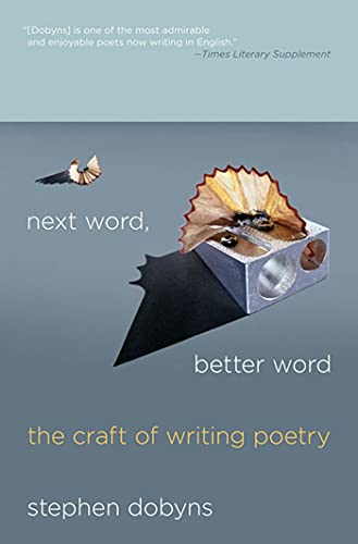 9780230621824: Next Word, Better Word: The Craft of Writing Poetry