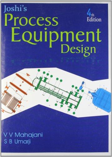 Joshi's Process Equipment Design: Mahajani; Umarji