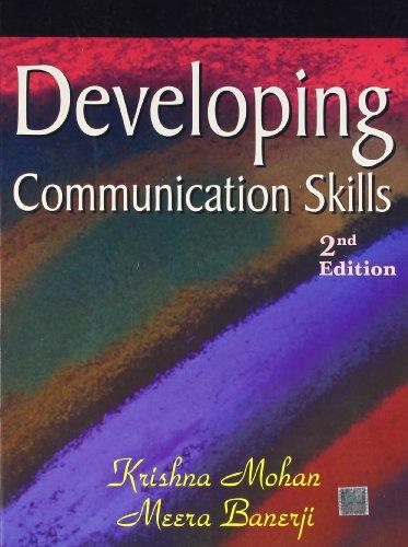9780230638433: Developing Communication Skills 2/e