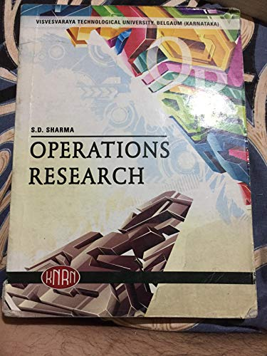 9780230638853: Operations Research: Theory and Applications (4/e)