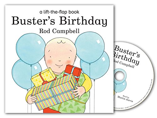 9780230700536: Buster's Birthday Book and CD Pack