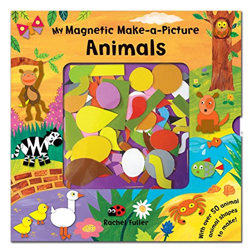 9780230702165: My Magnetic Make-a-Picture: Animals (Magnetic Book)