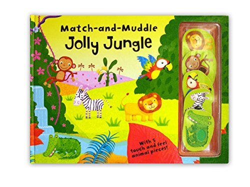 9780230705739: Match and Muddle: Jolly Jungle (Match & Muddle)
