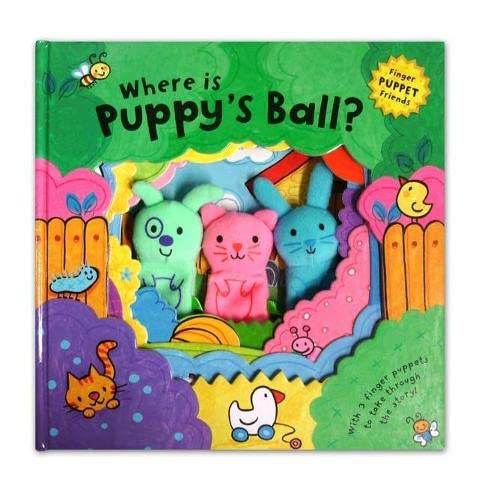 9780230706606: Finger Puppet Friends: Where is Puppy's Ball?