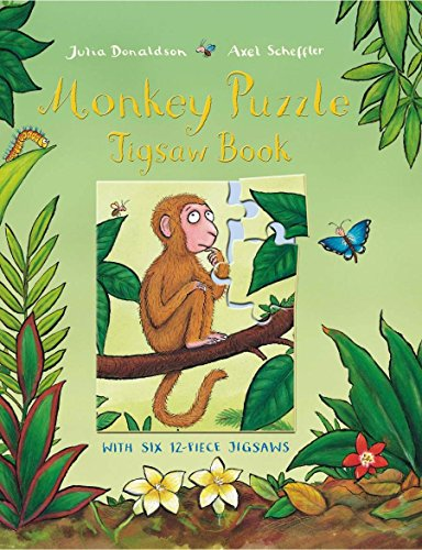 9780230707658: Monkey Puzzle Jigsaw Book