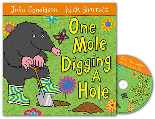 9780230708402: One Mole Digging A Hole Book and CD Pack