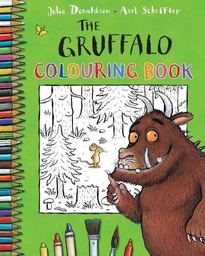 9780230708594: The Gruffalo Colouring Book