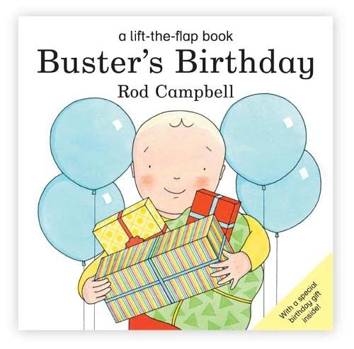 9780230709669: Buster's Birthday (Buster Lift the Flap)