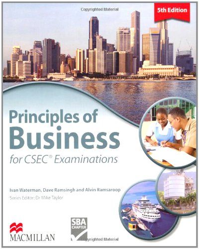 9780230716445: Principles of Business for CSEC Examinations