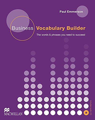 9780230716841: BUSINESS VOCABULARY BUILDER Pack: Student Book + Audio CD Pack