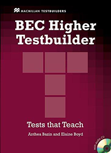 9780230717039: BEC HIGHER TESTBUILDER Pack