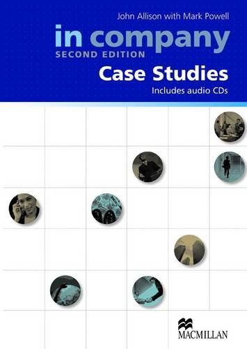 9780230717060: In Company All Levels (2nd Edition) Case Studies Book with CD