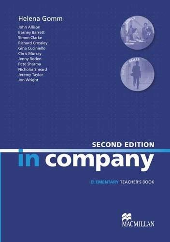 9780230717107: In Company. Elementary Teacher's Book