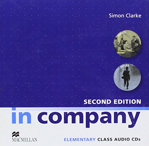 9780230717114: In Company Elementary (2nd Edition) Class Audio CDs (2)