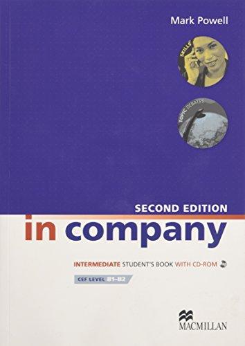 9780230717145: In Company Intermediate: Student Book + CD-ROM Pack
