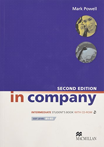 In Company Intermediate: Student Book + CD-ROM: Powell, Mark