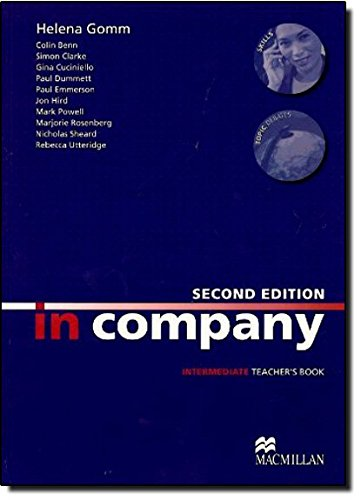 9780230717152: In Company Intermediate: Teacher's Book