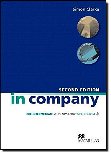 9780230717190: IN COMPANY Pre-int Sb Pk 2nd Ed: Student Book + CD-ROM Pack